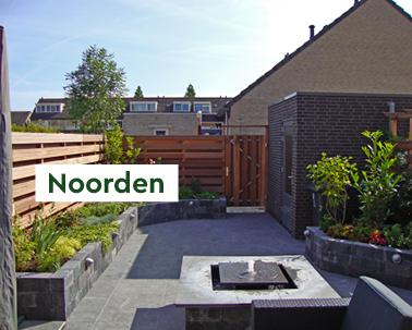 tuin noorden